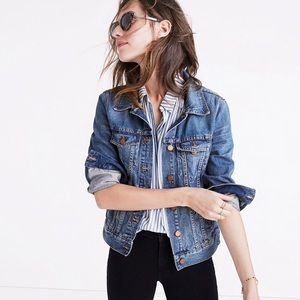 Madewell The Jean Jacket in Pinter Wash size M